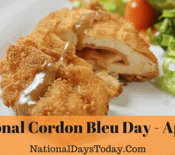 National Cordon Bleu Day