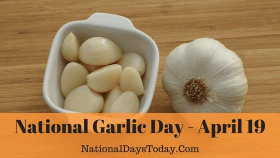 Image result for national garlic day 2018