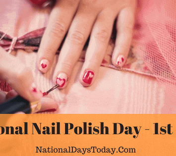 National Nail Polish Day