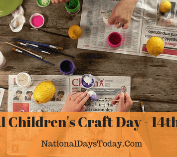 National Children's Craft Day