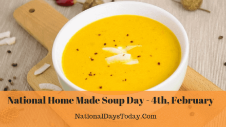 National Home Made Soup Day