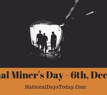 National Miner's Day