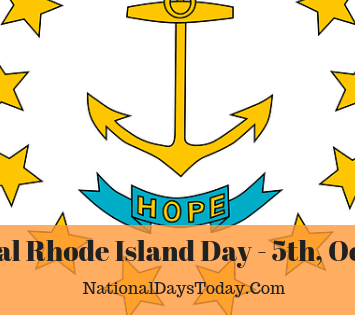 National Rhode Island Day