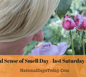 National Sense of Smell Day