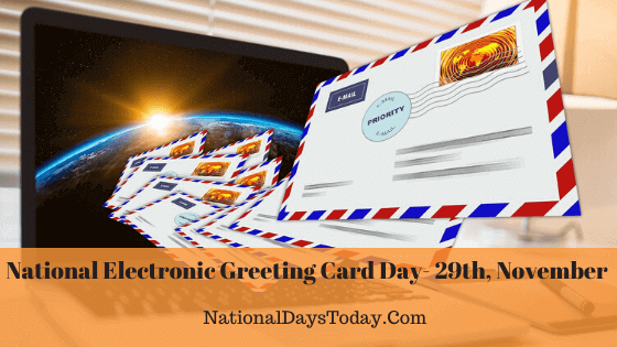 National Electronic Greeting Card Day