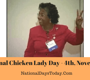 National Chicken Lady Day