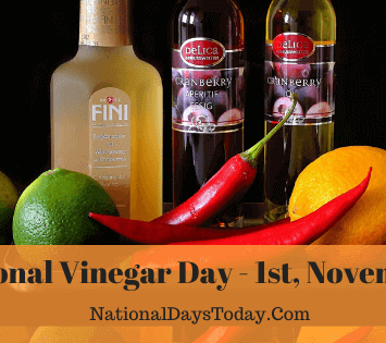 National Vinegar Day