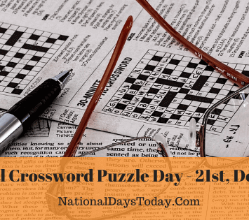 National Crossword Puzzle Day