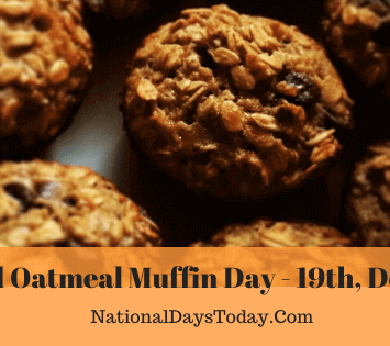 National Oatmeal Muffin Day