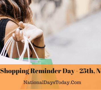 National Shopping Reminder Day