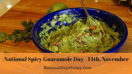 National Spicy Guacamole Day