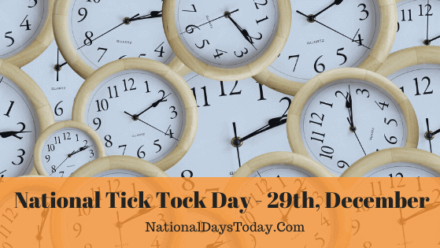 National Tick Tock Day
