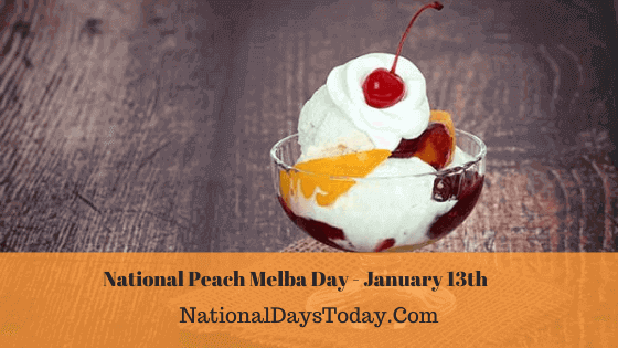 National Peach Melba Day