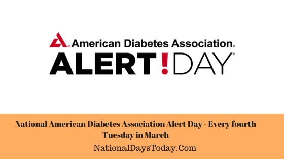 National American Diabetes Association Alert Day