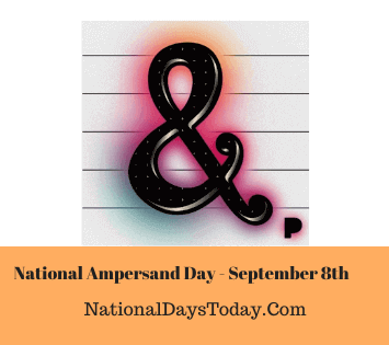 National Ampersand Day