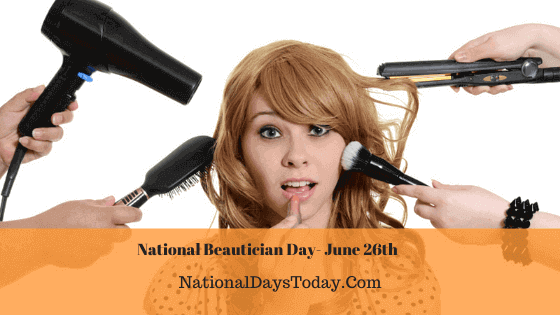 National Beautician Day