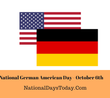 National German American Day
