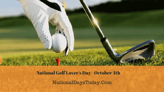 National Golf Lover's Day