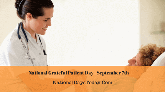 National Grateful Patient Day