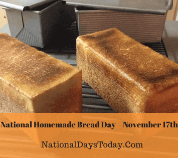 National Homemade Bread Day
