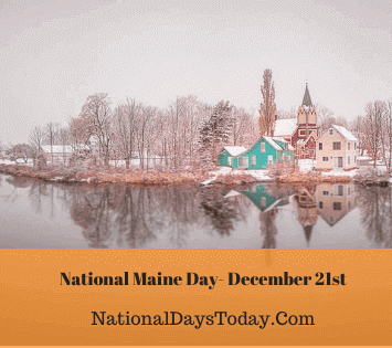 National Maine Day