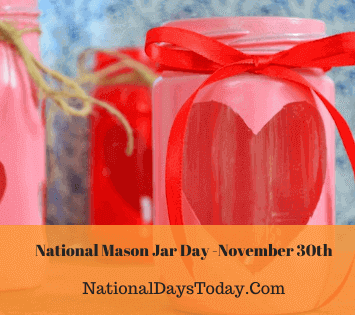 National Mason Jar Day
