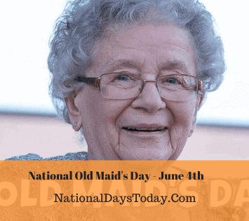 National Old Maid's Day