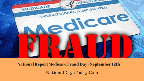 National Report Medicare Fraud Day