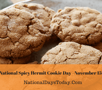 National Spicy Hermit Cookie Day