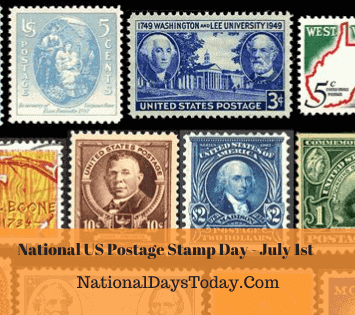 National US Postage Stamp Day