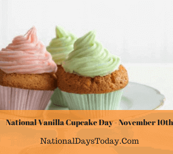 National Vanilla Cupcake Day