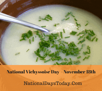 National Vichyssoise Day