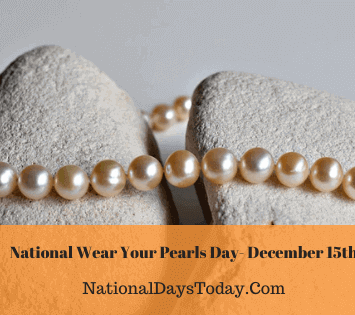National Wear Your Pearls Day