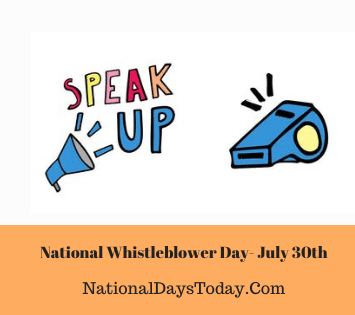National Whistleblower Day