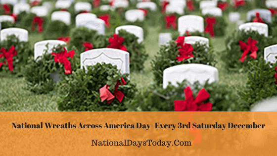 National Wreaths Across America Day