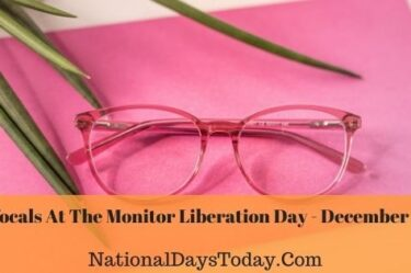 Bifocals At The Monitor Liberation Day
