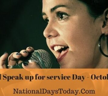 National Speak Up for Service Day
